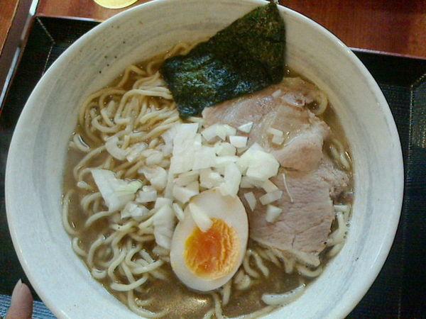 「煮干しラーメン、大盛」@麺旨のほんわかの写真