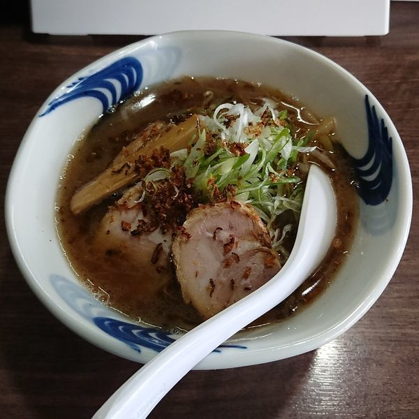 「札幌ねぎ醤油  @800円 限定」@我流麺舞 飛燕の写真