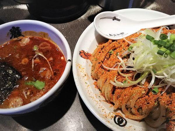 「七味つけ麺(中盛)¥900」@麺屋武蔵 巌虎の写真