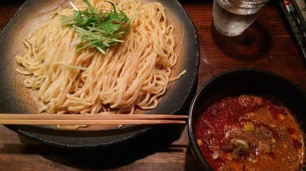 「担々つけ麺 2辛 大盛り 1,000円」@神泉のらぁめん屋 うさぎの写真