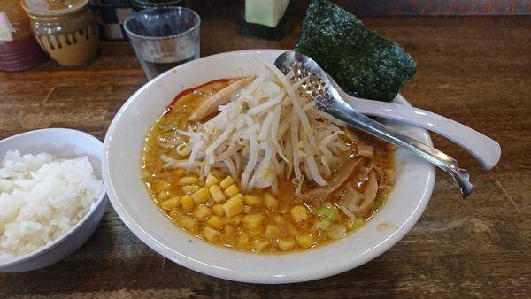 「自家製こってり味噌ラーメン」@麺や 天鳳の写真