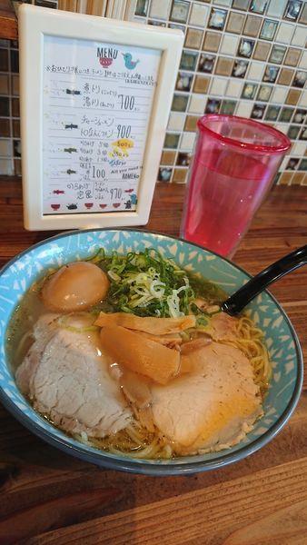「湯とり(あっさり)700円+味玉100円」@ラーメン屋 がったぼうずの写真