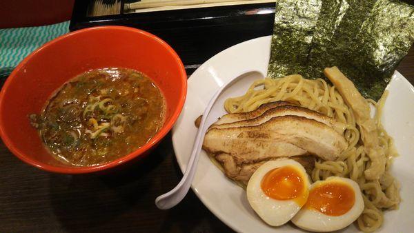 「濃厚煮干し辛つけめん」@麺屋 Rai遥の写真