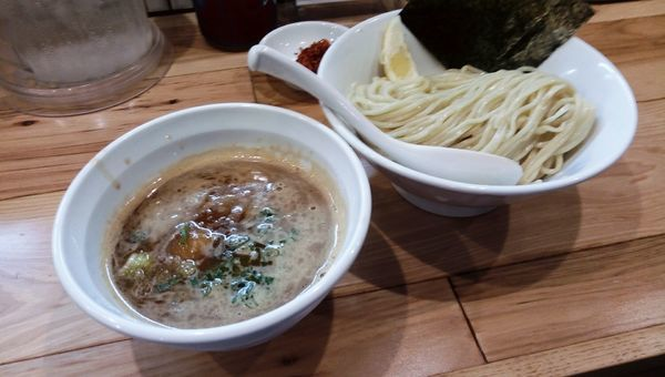 「海老漂う辛つけ麺屋」@らーめん カッパハウスの写真