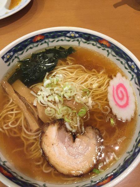 「醤油ラーメン@細麺」@清湯屋の写真
