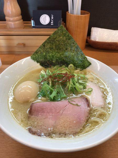 「鶏白湯真鯛そば」@麺処ろくめいの写真