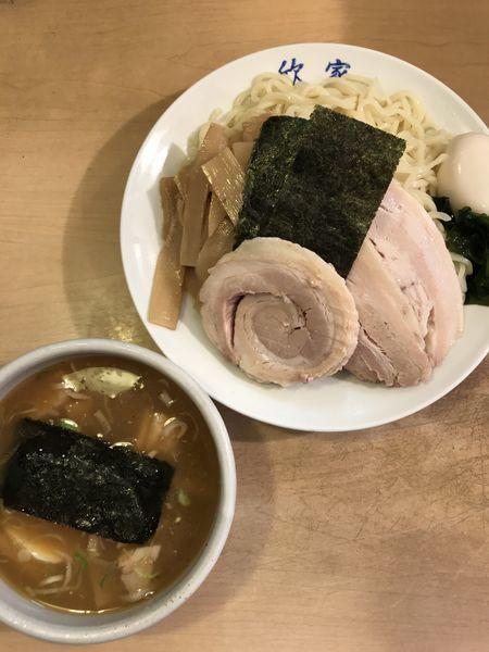 「スペシャルつけ麺」@手打ちつけ麺 欣家の写真