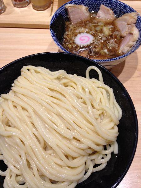「つけ麺チャーシュー大盛り 1250円」@頑者の写真
