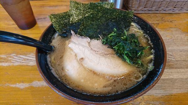 「ラーメン+チャーシュー1枚   麺カタ味コメ」@ラーメン 大山家の写真