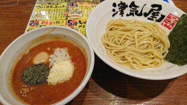 「味玉トマトつけ麺(小)970円」@つけ麺津気屋 武蔵浦和の写真