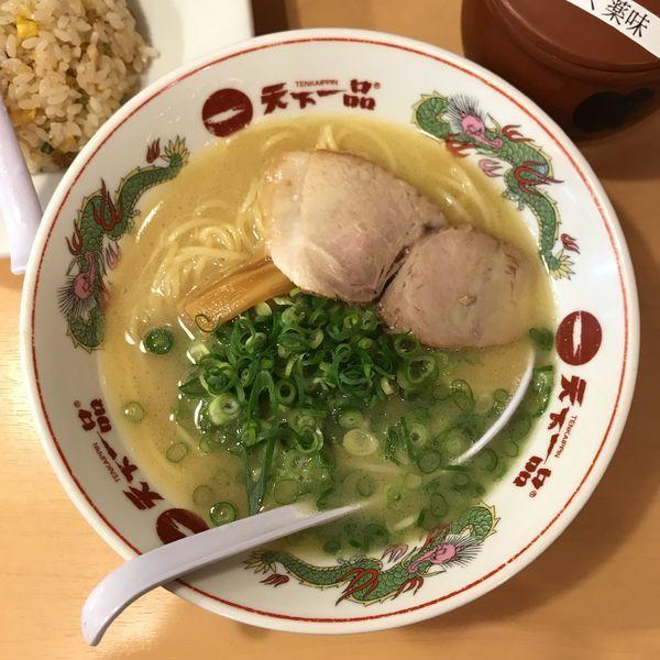 「こっさり(チャーハン定食)」@天下一品 池袋東口店の写真