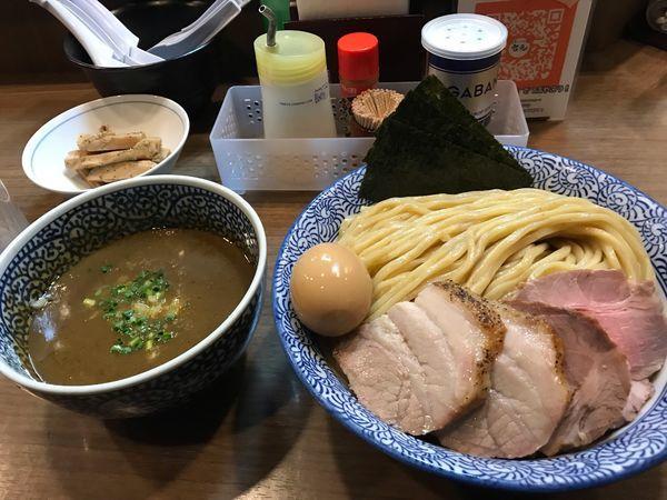 「特製極濃煮干しつけ麺(特)+メンマ」@煮干しつけ麺 宮元の写真
