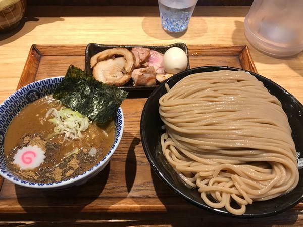 「つけ麺(特)+特選全部トッピング」@中華蕎麦 とみ田の写真