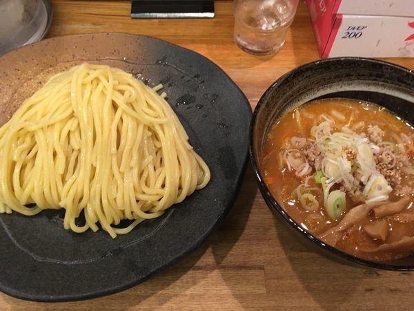 「味噌つけ麺」@つけ麺屋 やすべえ 新宿店の写真