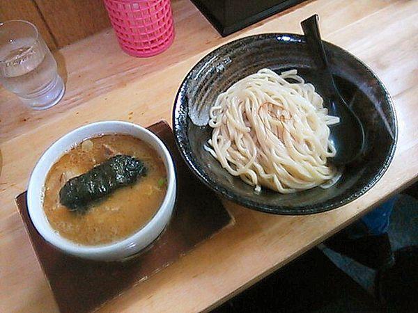「特製つけ麺」@麺屋 白神の写真
