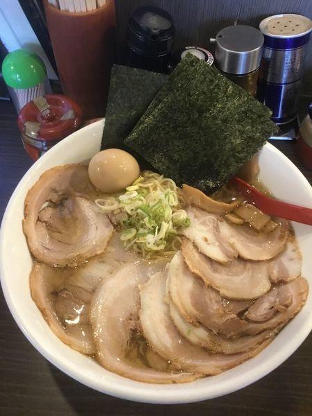 「九十九里 特製煮干し塩ラーメン  930円」@らーめん 福たけの写真