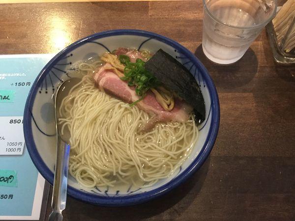 「弓削塩ラーメン(¥850)」@ねいろ屋 神保町店の写真