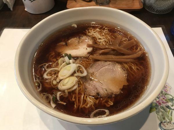 「東京神保町らーめん昔味(大盛り)」@麺や 菜かむらの写真