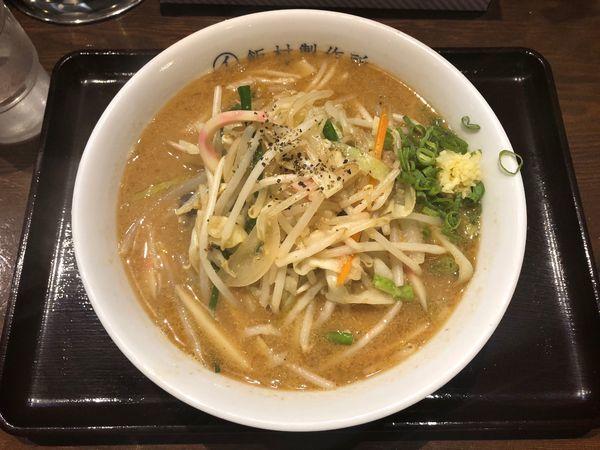 「味噌タンメン」@中華そば 飯村製作所の写真