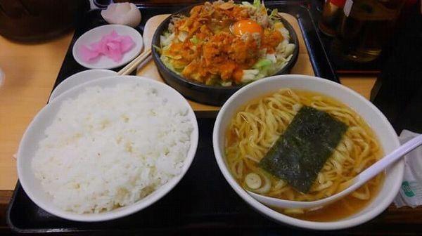 「鉄板麺(並)880円」@大盛軒の写真