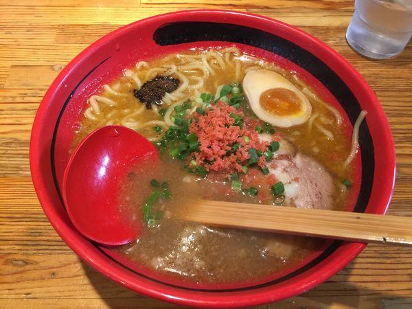 「えびみそラーメン(そのまま・太麺)」@えびそば一幻 総本店の写真