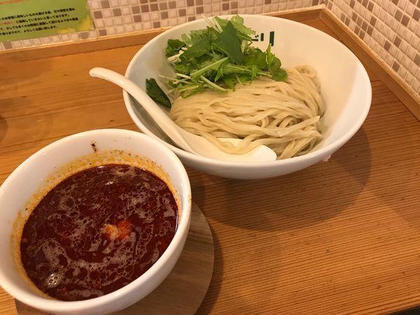 「辛つけ麺 800円」@ラーメン イロドリの写真