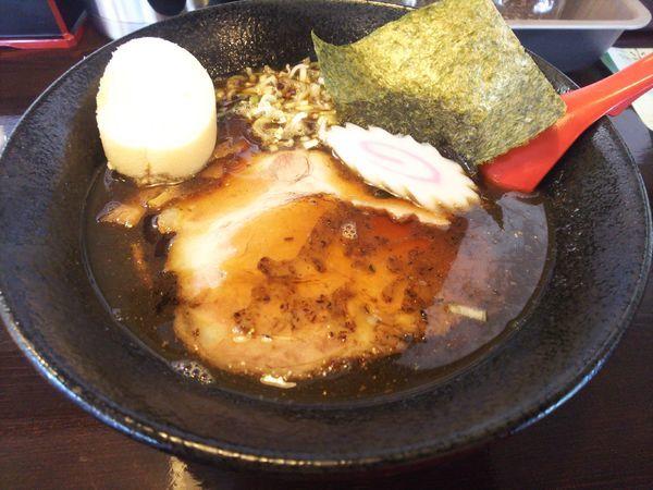 「煮干しそば(太麺)720円+税」@中華そば 盛岡煮干センターの写真