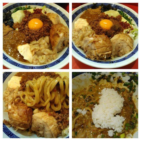「台湾まぜそば極み+大盛り+チーズ(アブラエビマヨ辛味山椒豚)」@ジャンプの写真