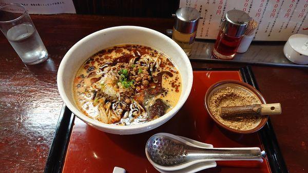 「麻辣坦々麺」@担々麺専門 發巳 砥上店の写真