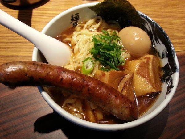 「虎洞ら〜麺 +角煮」@麺屋武蔵 虎洞の写真