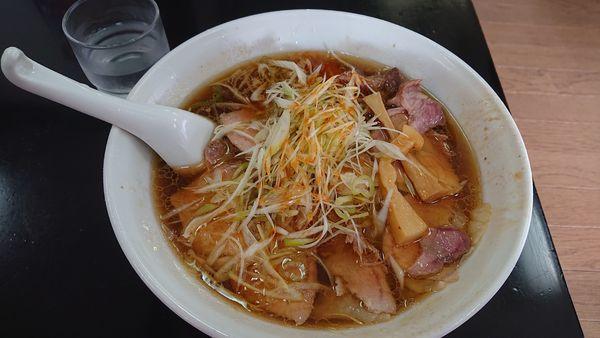 「ネギチャーシューワンタン麺」@手打 焔の写真