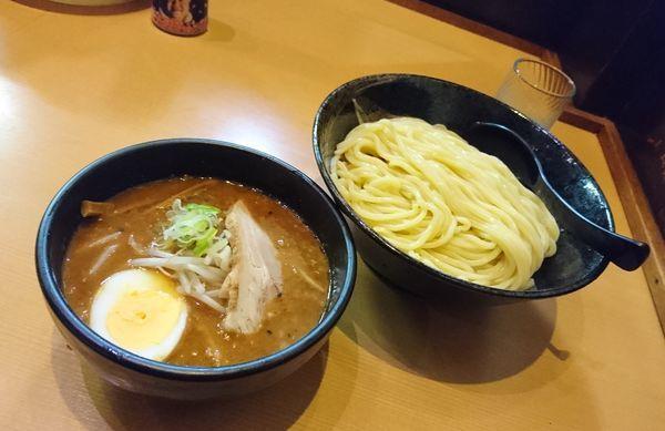 「味噌つけ麺 大盛」@常勝軒 本庄店の写真