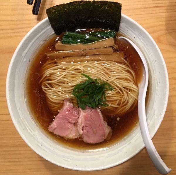 「今宵の酒→チャーシュー盛(ハーフ)→らぁ麺(醤油)」@麺屋 さくら井の写真