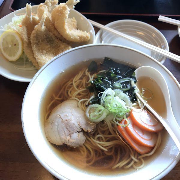 「ラーメン(¥400)」@魚処 厚生食堂の写真