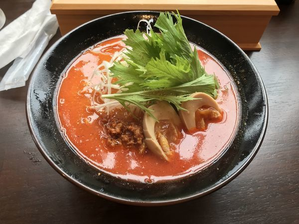 「牛骨塩担々麺」@麺屋 Quの写真