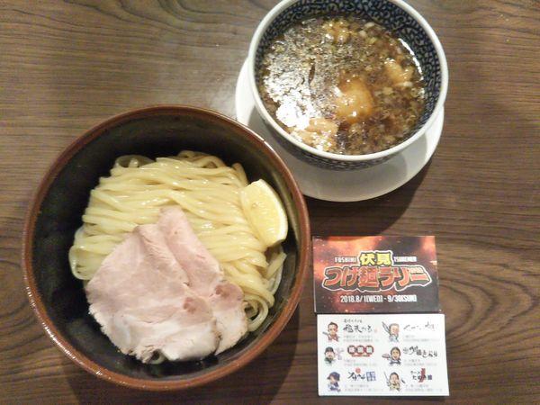 「熟成醤油せせりつけ麺(2018年9月限定)」@セアブラノ神 伏見剛力の写真