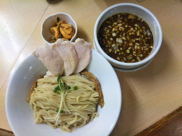 「サバ醤油つけ麺(夏季限定)」@ラーメン たぬき屋の写真