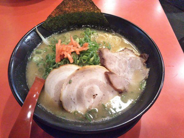 「ラーメン元味(豚骨醤油)」@特製ラーメン 大中 伏見店の写真