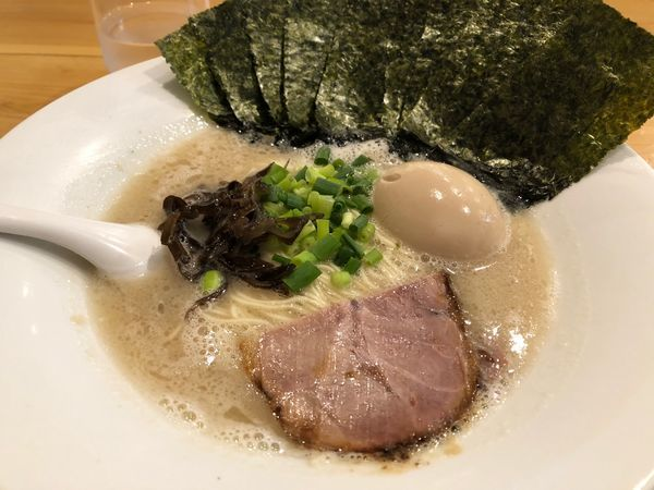 「味玉らーめん のり増し」@麺道我飯の写真