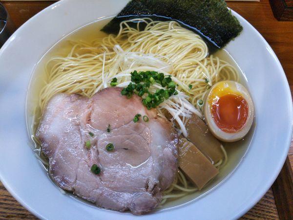 「支那そば・白(麺倍増¥1100)」@猪一の写真