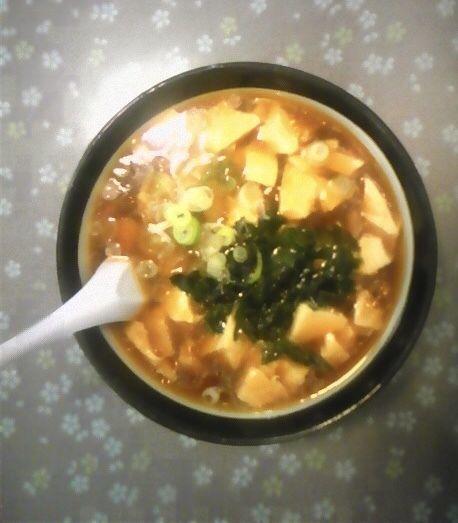 「豆腐ラーメン」@レストラン大手門の写真