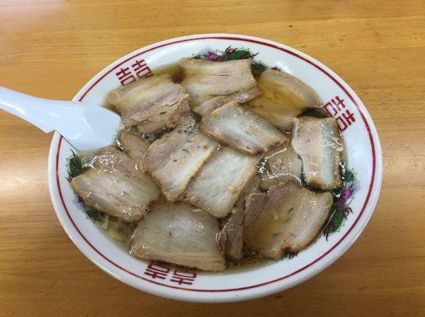 「肉そば(麺硬め)」@古川農園の写真