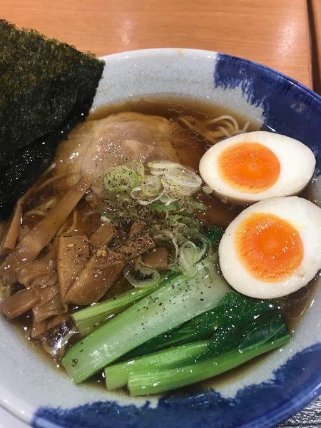 「味玉醤油らーめん  780円」@麺屋 空海 イオンモール北戸田店の写真