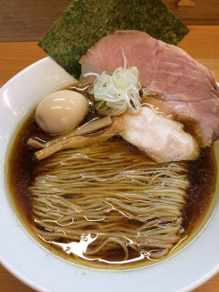 「中華そば780円」@麺処ろくめいの写真