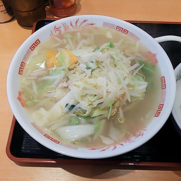 「野菜たっぷりタンメン(麺少なめ)」@日高屋 久米川駅南口店の写真