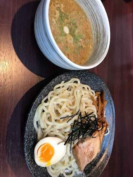 「つけ麺(並)@780+ランチサービス@100」@麺屋のりお 難波中店の写真