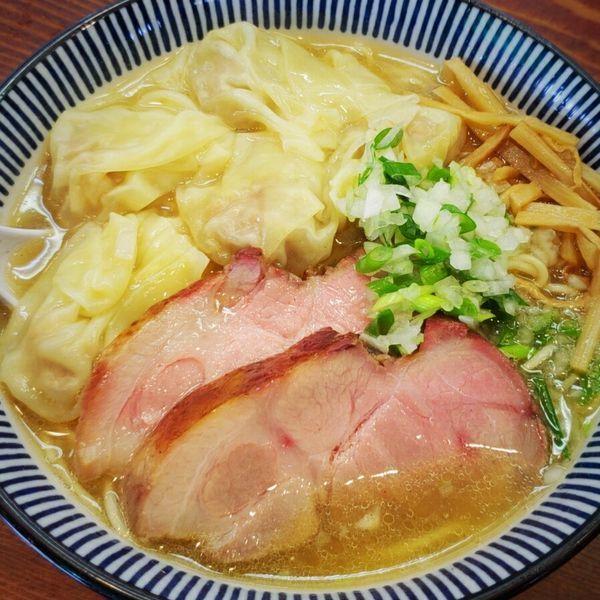 「【Special】アゴダシエビワンタン 900円」@良温(Ra-on)の写真