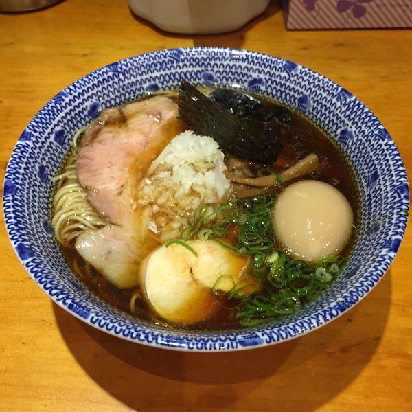 「名古屋コーチン(醤油)+味玉トッピング」@喜元門 つくばサイエンス通り店の写真