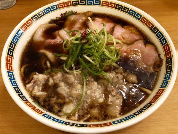 「(清湯)豚醤油」@Ramen 辻の写真