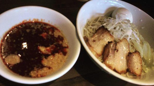 「広島つけ麺味玉中盛り」@らあめん 広の写真